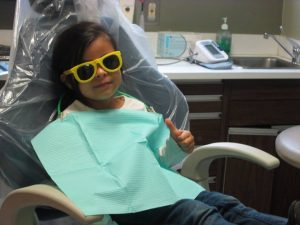 Girl-dental